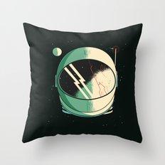 Death of an Astronaut Throw Pillow