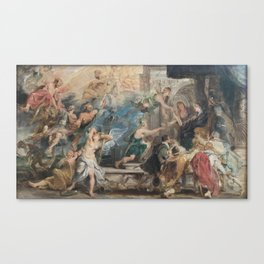 L'Apothéose de Henri IV Canvas Print