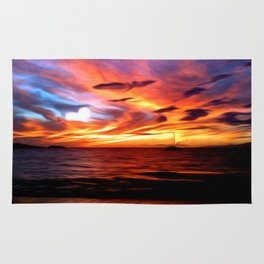 Honeymoon Sunset Rug