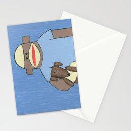 Sock Monkey 69 Stationery Cards