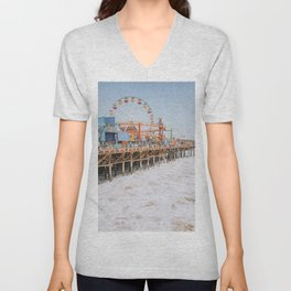 santa monica iii / california Unisex V-Neck