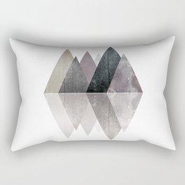 Modern Scandinavian Mountain Rectangular Pillow