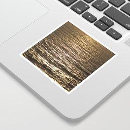 Sun ray on the sea Sticker