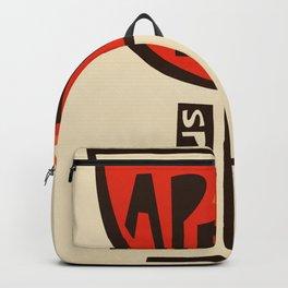 Aperol Spritz Cocktail Print Backpack