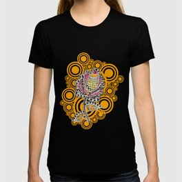 Madhubani - Fish Flower 1 T-shirt
