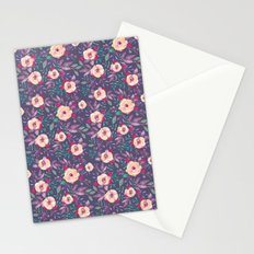 Flower Watercolor Pattern Stationery Cards