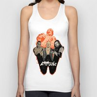 wrestling Tank Tops featuring Attitude Wrestling  by RJ Artworks