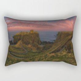 Fort On The Shelving Slope Rectangular Pillow