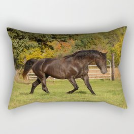 Rocky Mountain Horse Impulsive Ghost Rectangular Pillow