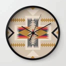 goldenflower Wall Clock