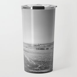 Surfing Monochrome Travel Mug