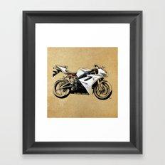 Triumph Daytona 675 Framed Art Print