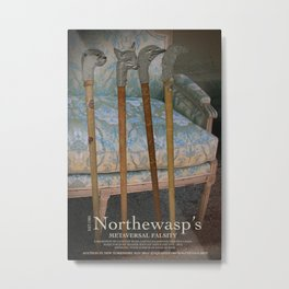 Northewasp's Auctions Metal Print