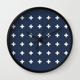 TINY CROSSES Wall Clock