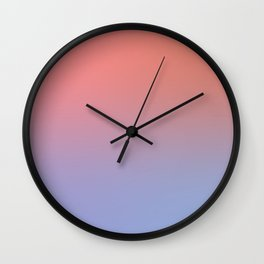 Peach Bellini Wall Clock