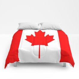 Flag of Canada Comforters