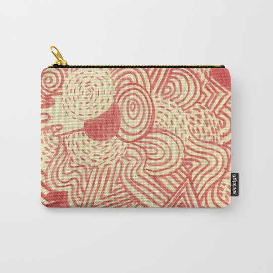 Heat waves Carry-All Pouch