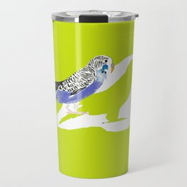 Pistachio shadow parakeet Travel Mug