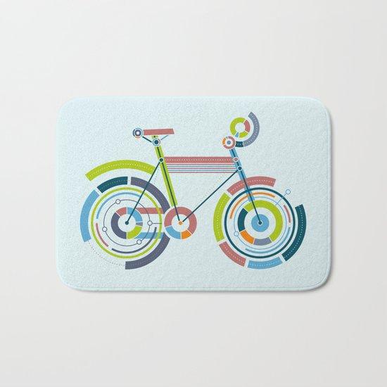Bicyrcle Bath Mat