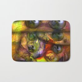 Cryptic Perspective Bath Mat