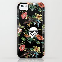 iPhone 5c Case featuring The Floral Awakens by Josh Ln