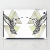 hummingbird iPad Cases featuring Hummingbird by Barlena