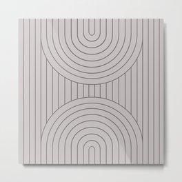 Arch Symmetry II Metal Print