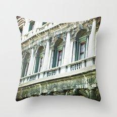 The Facade - Venice Throw Pillow