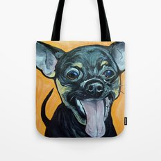 Chihuahua Art Tote Bag
