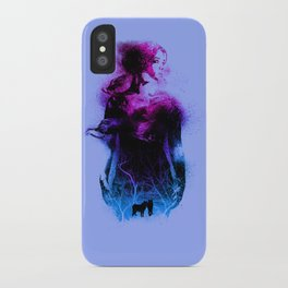 Forest queen iPhone Case
