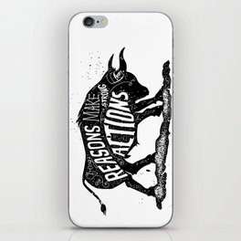Lettering iPhone Skin