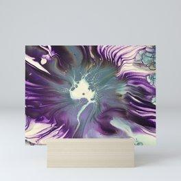 Purple Spin Mini Art Print