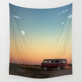 Combi moon Wall Tapestry