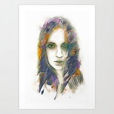 Cloak Art Print