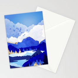 Blue Lake Stationery Cards