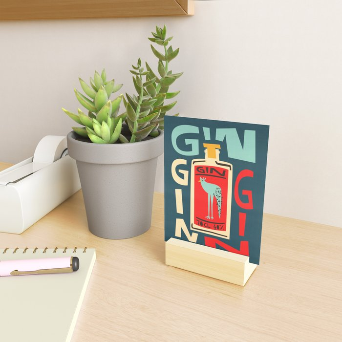 Gin Gin Gin Mini Art Print