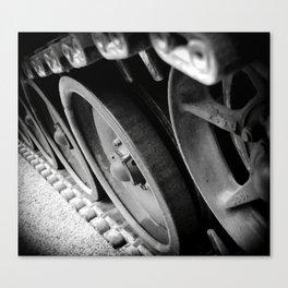 Tank Wheels Canvas Print