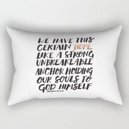 HOPE ANCHOR Rectangular Pillow