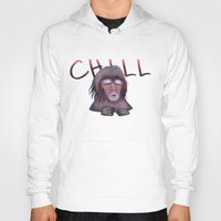 chill Hoodies featuring CHILL by ThousandPandas