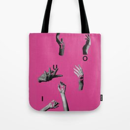 Touch It Tote Bag