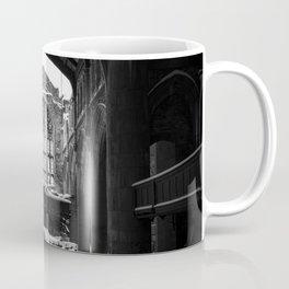 Abandoned Church in Winter Coffee Mug