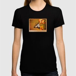 Swallowtail Butterfly and Tiger Lily T-shirt