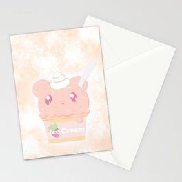 Ice Cream Cup Stationery Cards