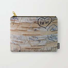 Love Memories in Lover's Lane, Green Gables Carry-All Pouch