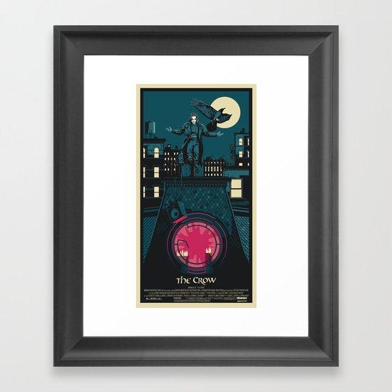 THE CROW (1994) Framed Art Print