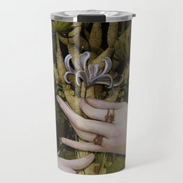 """The hands of Bosch and the Spring"" Travel Mug"