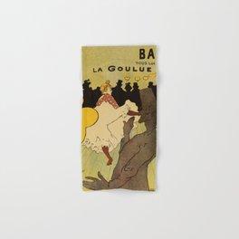 Paris nightlife 1891 Toulouse Lautrec Hand & Bath Towel