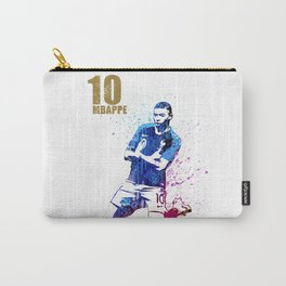 Sports art _ France world cup football 2018 Carry-All Pouch