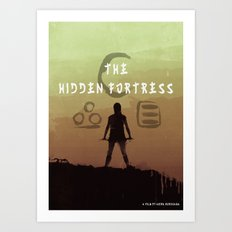 The Hidden Fortress Art Print