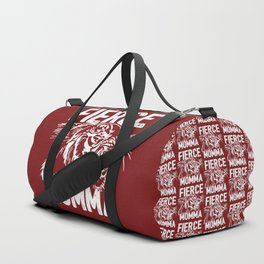 Fierce Momma / Red Duffle Bag